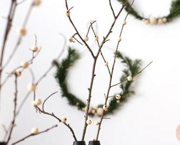 DIY 46 – Table de Noël noir et bois