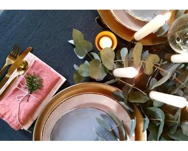 Ma table de Noël bohème chic avec Monoprix