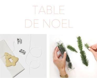 DIY 47 – Table de Noël blanche