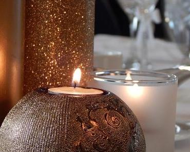 Idées de décoration de table du réveillon, du Nouvel An
