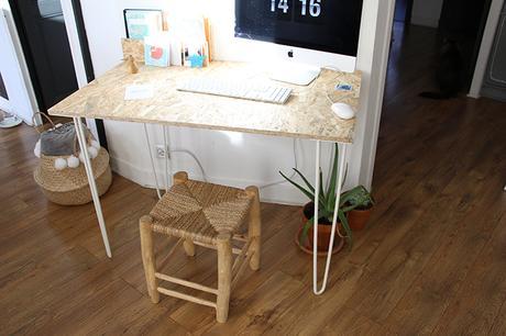 Un bureau osb handmade très simple à réaliser