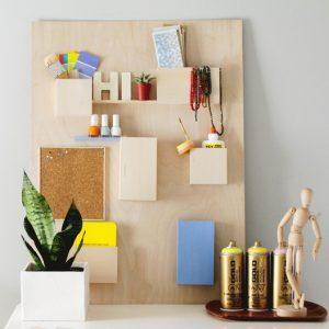 DIY DECO organiseur mural rangement en bois
