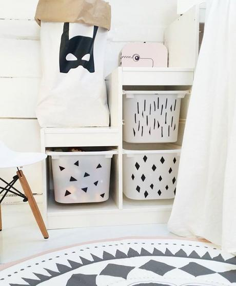 Customiser un meuble ikea 20 id es pour la chambre d enfant - Personnaliser meuble ikea ...