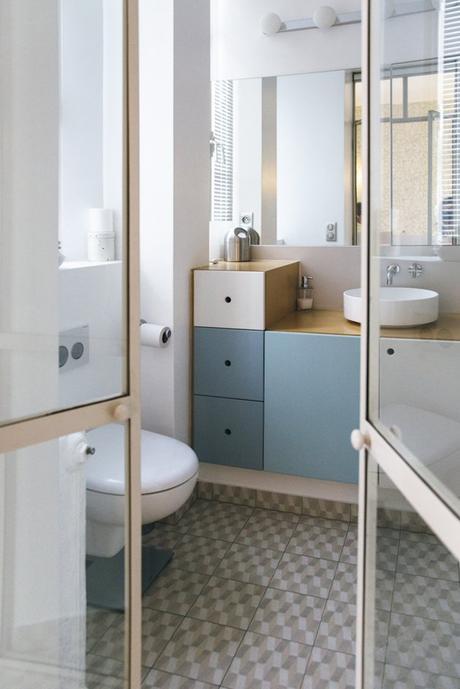 Assez Visite déco : un appartement haussmannien moderne BZ12