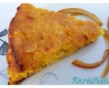 Gâteau de Pommes de Terres aux Amandes et à l'Orange - Sans Gluten