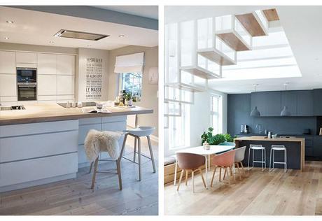 cuisine ouverte ou semi ouverte une cuisine dans l air du temps. Black Bedroom Furniture Sets. Home Design Ideas