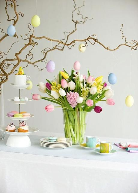 DIY Pâques oeuf fleur