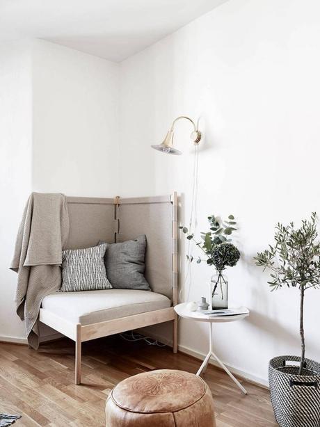fauteuil d'angle pour la maison espace détente