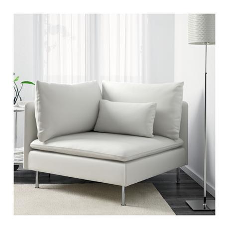 fauteuil d'angle pour espace cocooning dans le salon fenetre
