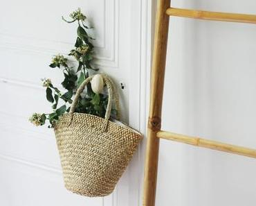 Fan des petits paniers en décoration