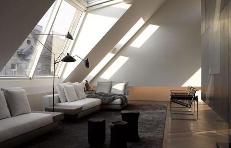 visite deco minimaliste sous les toits