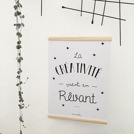 diy un joli cadre en bois pour vos affiches. Black Bedroom Furniture Sets. Home Design Ideas
