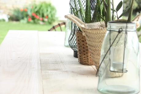TUTO pour construire votre table de jardin en bois