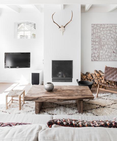 Id es de d coration int rieure avec un tapis beni ouarain - Des idees de decoration interieure ...