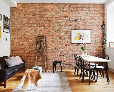 5 manières de décorer un mur de briques