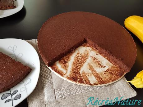 Gâteau Fort en Chocolat et... en Courgette ! {sans gluten, sans beurre}