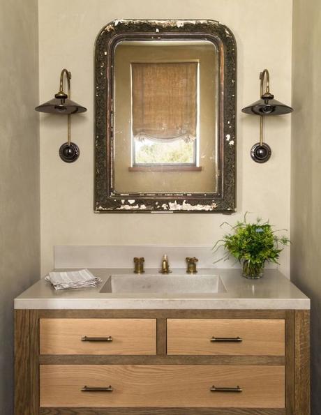 deco maison de campagne moderne salle de bain