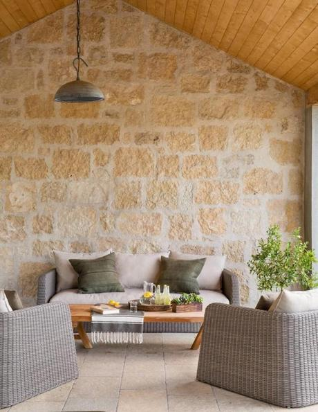 deco maison de campagne moderne terrasse