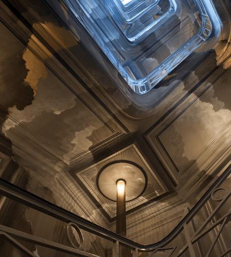 escaliers orage nuage gris nolinski
