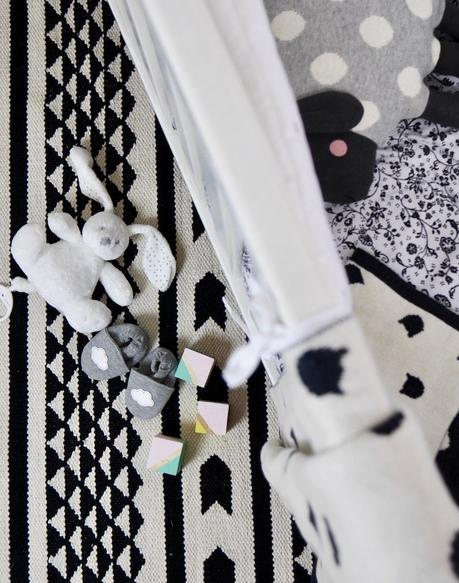 Une Deco De Chambre Bebe En Noir Et Blanc
