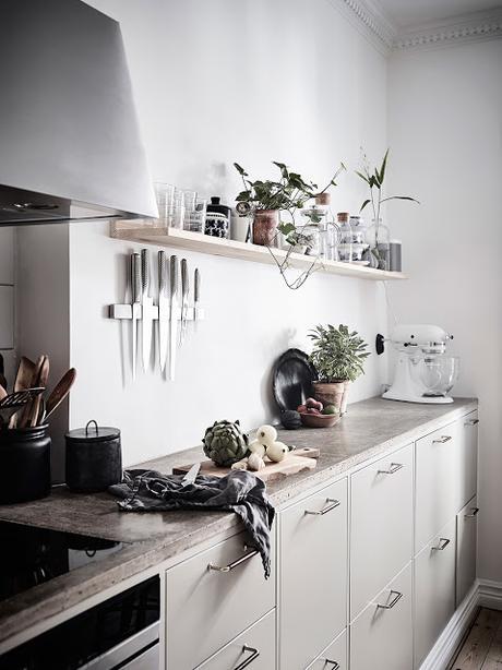 Le charme typique des appartements suédois