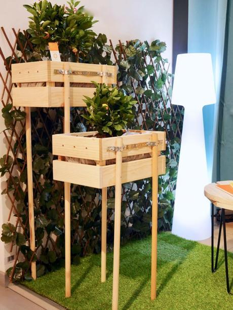 diy jardiniere notre potager sur lev. Black Bedroom Furniture Sets. Home Design Ideas