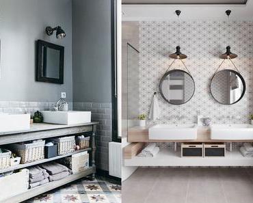 5 salles de bains qui vont vous donner envie d'en changer