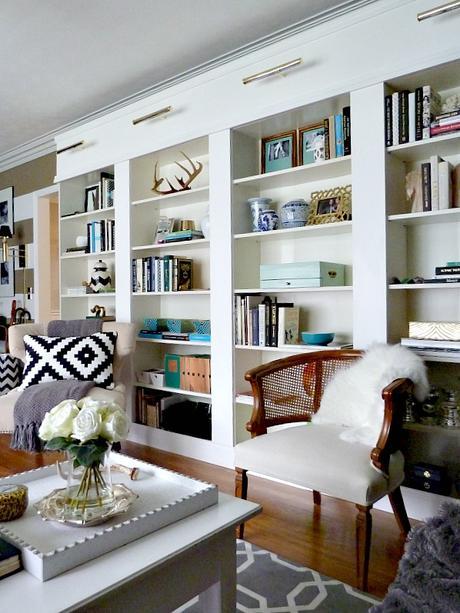 Ikea hack billy un look original pour la biblioth que iconique - Faire sa bibliotheque sur mesure ...
