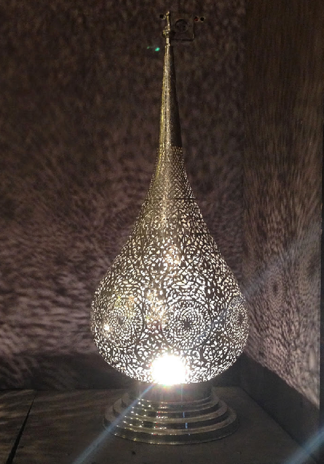 Lampe de chevet marocaine