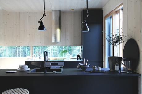 Finlande / Le charme d'une maison en bois   /