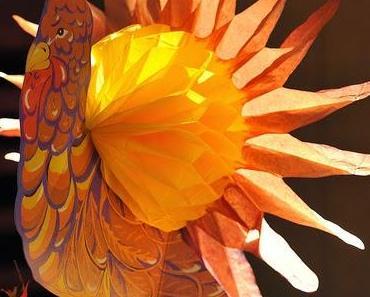 Fabriquer des cartes, un arbre pour Thanksgiving, loisirs créatifs pour enfants
