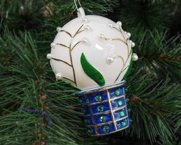 Mon sapin de Noël bleu et argent avec Alessi