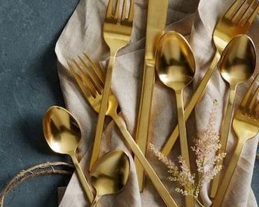 Couverts dorés et en laiton : 10 bonnes adresses