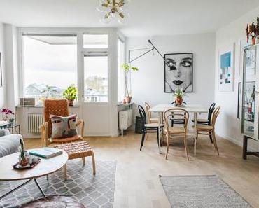 Home Tour : un appartement vivant en Suède •• A lively apartment in Sweden