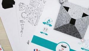 Agent Paper trophées colorier