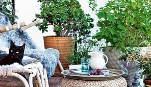 Concocter balcon cosy