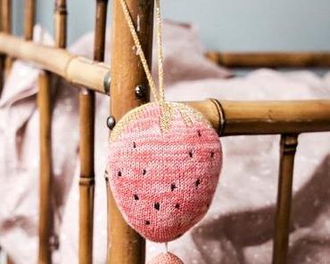 Une décoration de saison : vive les fraises !