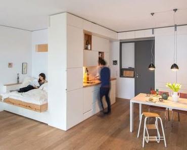 4 astuces pour optimiser l'espace dans un studio