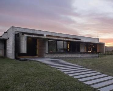 Une maison sans étage, ouverte sur la province de Buenos Aires en Argentine
