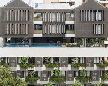 Appartements à Bangkok : l'esprit d'une villa dans un immeuble verdoyant