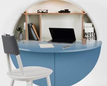 Bureau pliable pour petit espace meubles design à petit prix