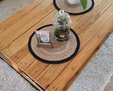 À vos outils : la table basse palette DIY de Coline