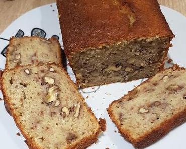 Cake Très Moelleux aux Bananes et aux Noix {Banana Bread}