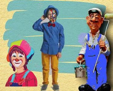 DIY déguisement de peintre pour Carnaval, Mardi-Gras