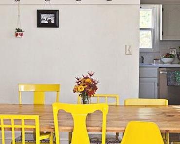 Assortir des chaises dépareillées :  9 conseils pour une salle à manger réussie
