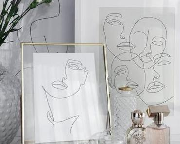 Le motif visage dans la décoration intérieure