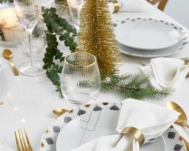 Art de table : où trouver de la vaisselle dorée