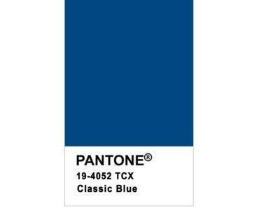 La couleur tendance de l'année 2020 est dévoilée : le classic blue !