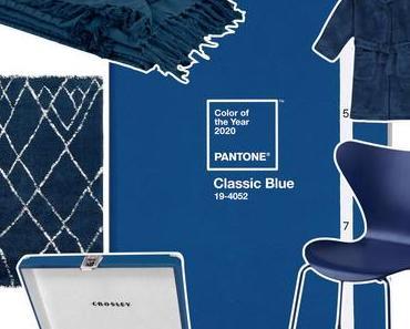Pantone Classic Blue : La couleur de l'année 2020
