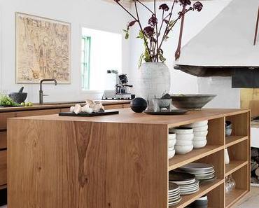 Apportez un brin de nature avec une cuisine en bois